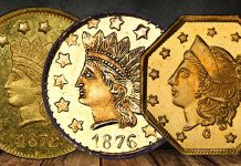 California Fractional Gold Featured in July 22 Heritage Showcase Auction