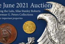 Over $7.8 Million in U.S. Coins Sold in Stack's Bowers Galleries' June 2021 Auction