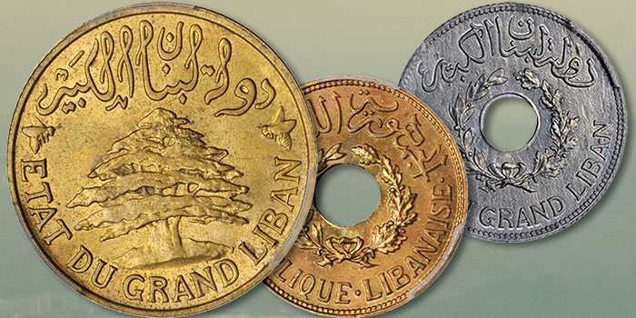 Lebanese Coins: The Early Coinage of Modern Lebanon—An Array of High Grade Offerings