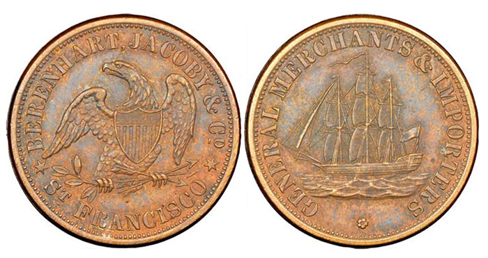 Highlights From Robert Adam Collection of U.S. Tokens and Medals in Stack's Bowers June CCO Auction