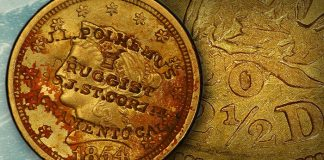 Unique Counterstamped 1854 New Orleans Gold Coin Returns Home