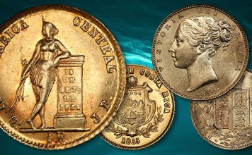 SS Central America Foreign Gold Coins Set Record Prices in Goldberg's Auction