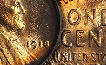 United States 1918 (P) Lincoln Cent