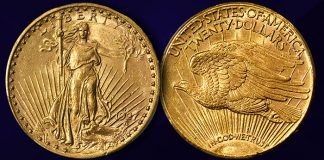 Exceptional Mint State 1927-S Saint Gaudens $20 Featured in Stack's Bowers August 2021 Auction