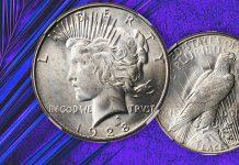 United States 1928-S Peace Dollar