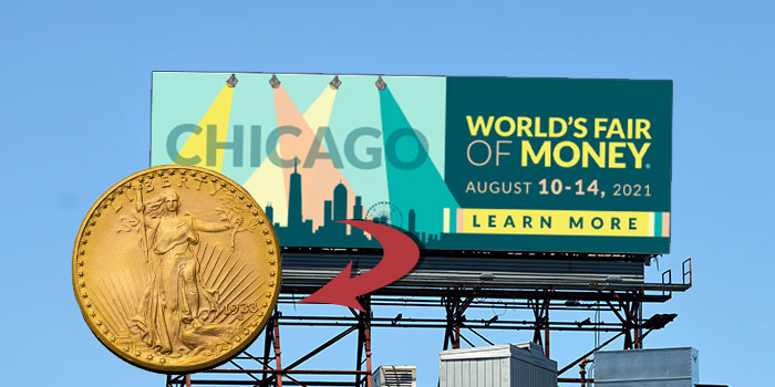 World's Most Valuable and Famous Rare Coin, 1933 Double Eagle, at ANA World's Fair of Money