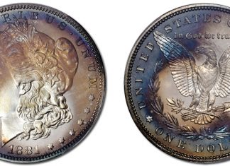 Proof-68 CAC 1881 Morgan Dollar From Original Set Featured in Stack's Bowers August 2021 Auction