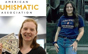 Young Numismatists Receive 2021 ANA Scholarships for College