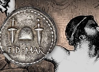 EID MAR Denarius Offered by Heritage Auctions at ANA World's Fair of Money