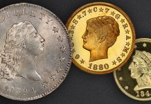 """Collectors Loan """"Magnificent 7"""" $15+ Million Group of Classic U.S. Coins for Display at World's Fair of Money"""