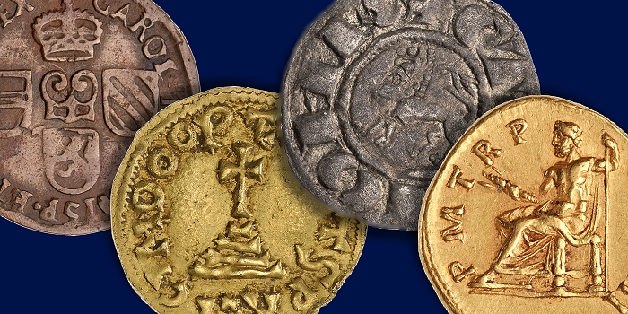 Ancient and Medieval Coins With Two-Sided Legends