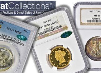 Notable Coin Auction Price Realizations at GreatCollections in June 2021