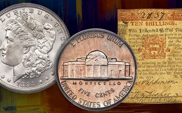 Heritage Showcase Auctions Feature Dutton Collection of US Coins, Colonial Valley Collection of Colonial Notes