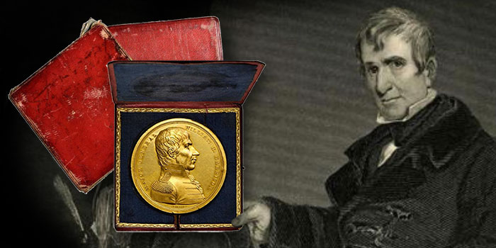 Unique William Henry Harrison Congressional Gold Medal Offered in Stack's Bowers ANA Auction