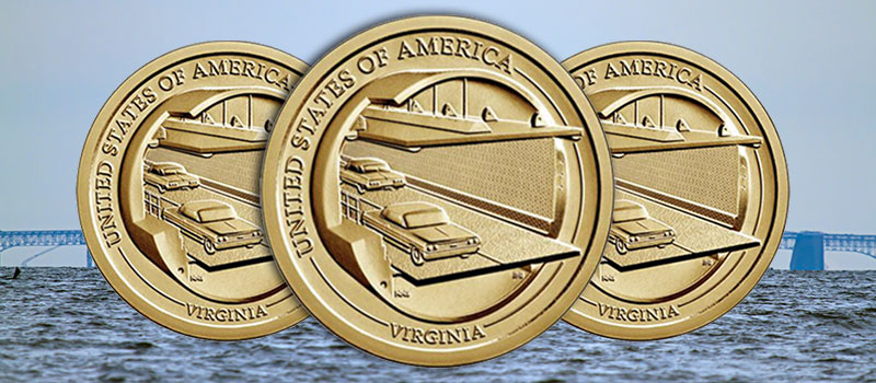 United States Mint Opens Sales for Virginia American Innovation $1 Coin Products July 27