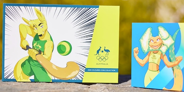 Royal Australian Mint Releases Limited Edition Olympic and Paralympic Coins