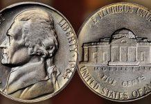 United States 1964 Jefferson Nickel