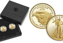 US Mint Opens Sales for Designer Edition American Eagle Gold 2-Coin Set August 5