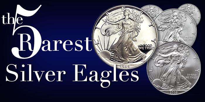 The Rarest American Silver Eagles