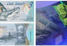 Cook Islands Issues New $3 Polymer Note Featuring Ina and the Shark on Safeguard Substrate
