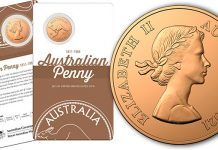 Royal Australian Mint Commemorates 110 Years of the Penny