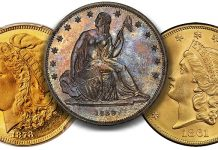 Major US Rarities and Key Coins at ANA Heritage Platinum Night and Signature Auction