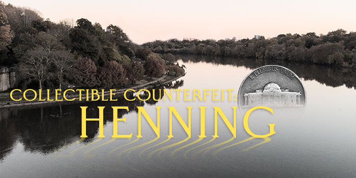 A Collectible Counterfeit? The Story of Henning Nickels