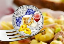 Italian Mint Celebrates Lambrusco and Tortellini on New Collector Coin