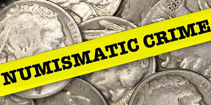 Numismatic Crime Updates: Break-Ins, Bad Checks, and Stolen Coins - NCIC, Doug Davis
