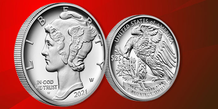 United States Mint 2021 Palladium Proof Coin Available September 2