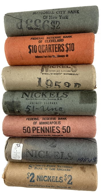 What You Should Know About Original Bank-Wrapped (OBW) Coin Rolls