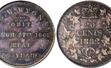 Rare Canadian Pattern Coin Honoring George Wyon in Stack's Bowers ANA World Coin Auction