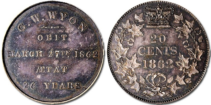 Rare Canadian Pattern in Stack's Bowers ANA Auction
