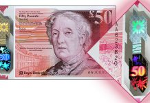 Royal Bank of Scotland Issues New £50 Polymer Note
