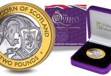 Seventh Coin in Queen's Beasts Series Features the Unicorn of Scotland