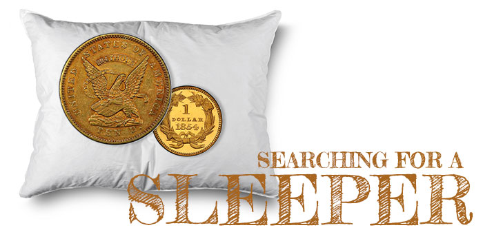 """Searching for a """"Sleeper"""": Collecting Classic US Coins"""