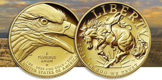 American Liberty High Relief Gold Coin August 19
