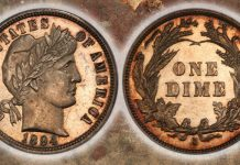 Legend Numismatics Buys Eliasberg 1894-S Dime for $1.8 Million, Now in Bruce Morelan Collection
