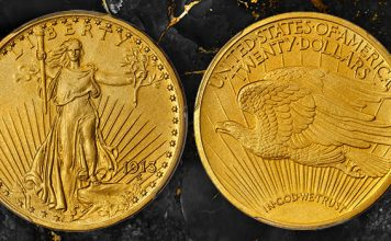 Stack's Bowers Sets Record for Most Valuable Proof With Motto Saint-Gaudens $20