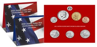 2021 United States Mint Uncirculated Coin Set Available September 28