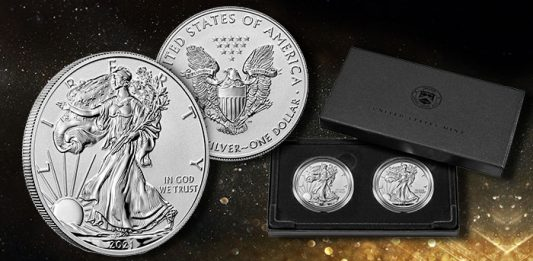 United States Mint to Release Set of 2021 Reverse Proof American Silver Eagles Sept. 13