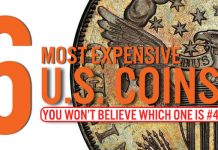 The Top 6 Most Expensive US Coins - Bullion Shark