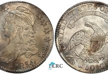 Eliasberg Finest Known 1824/1 Half Dollar Offered by David Lawrence Rare Coins
