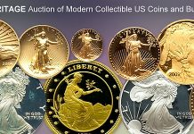 Bidding Open in Heritage Showcase Auction of Modern US and Bullion Coins