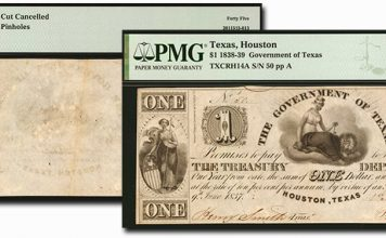 Rare Obsolete Texas Banknote Highlights From Stack's Bowers September CCO Auction
