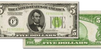 Choice Uncirculated 1928D Atlanta $5 to be Featured in November 2021 Auction: PMG Pop 1/1 Finer