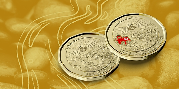 New Canadian $1 Circulation Coin Tells Shared History of Klondike Gold Rush
