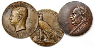 Rare Roosevelt, Harding Inaugural Bronze Medals in Stack's Bowers Showcase Auction