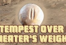 """Tempest Over a """"Cheater's Weight"""""""