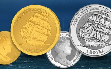 New Reverse Frosted Gold and Silver Bullion Coins Feature Historic Clipper Cutty Sark
